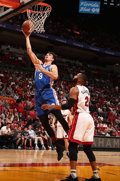 Philadelphia 76ers v Miami Heat