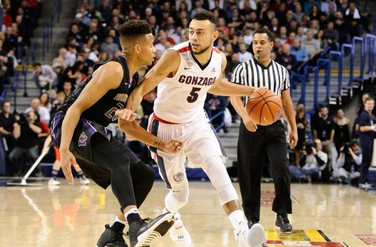 NCAA Basketball: Washington at Gonzaga