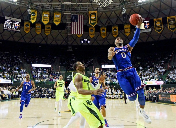 NCAA Basketball: Kansas at Baylor