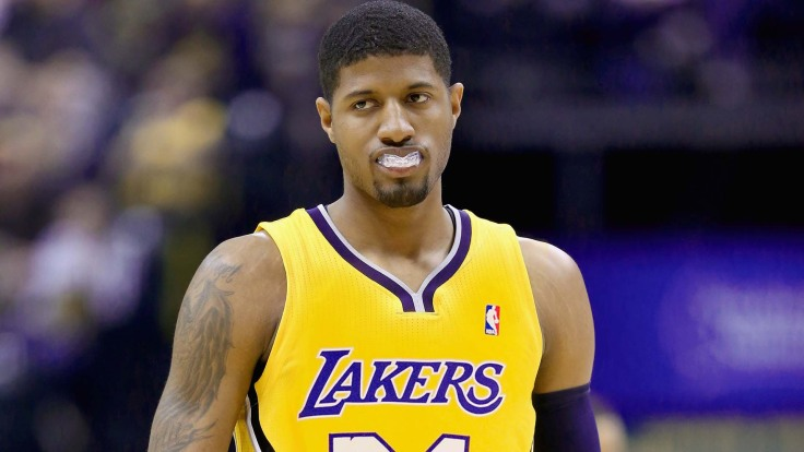 Sorry Pacers Fans, Paul George Is Purple And Gold Bound Banner