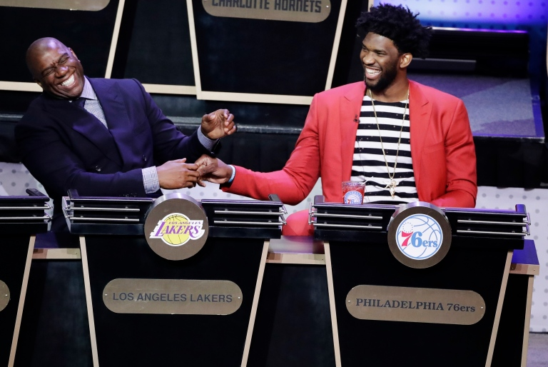 Magic Johnson, Joel Embiid
