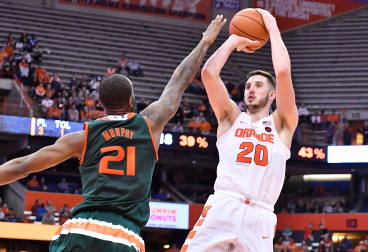 NCAA Basketball: Miami at Syracuse