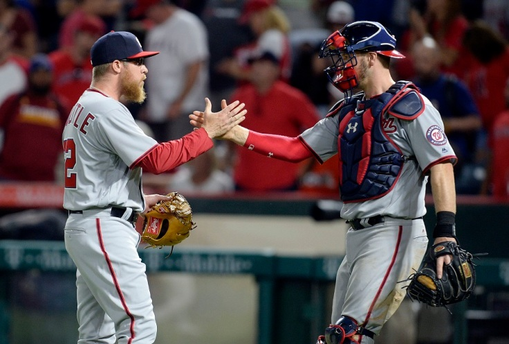 MLB: Washington Nationals at Los Angeles Angels