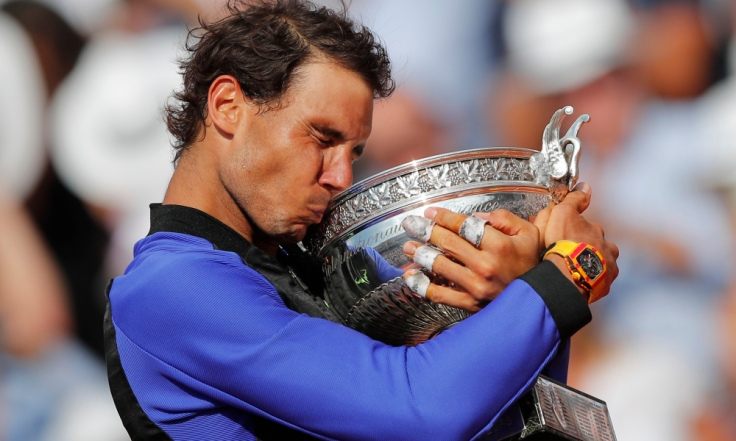 AP APTOPIX FRANCE TENNIS FRENCH OPEN S TEN FRA