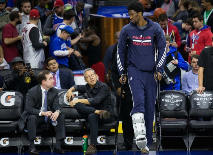 NBA: Cleveland Cavaliers at Philadelphia 76ers