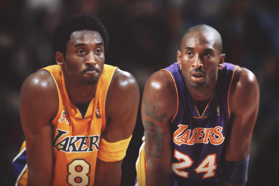 db6430bd2a69 Compare The Pair – No. 8 Kobe Bryant vs No. 24 Kobe Bryant – SportsbyFry