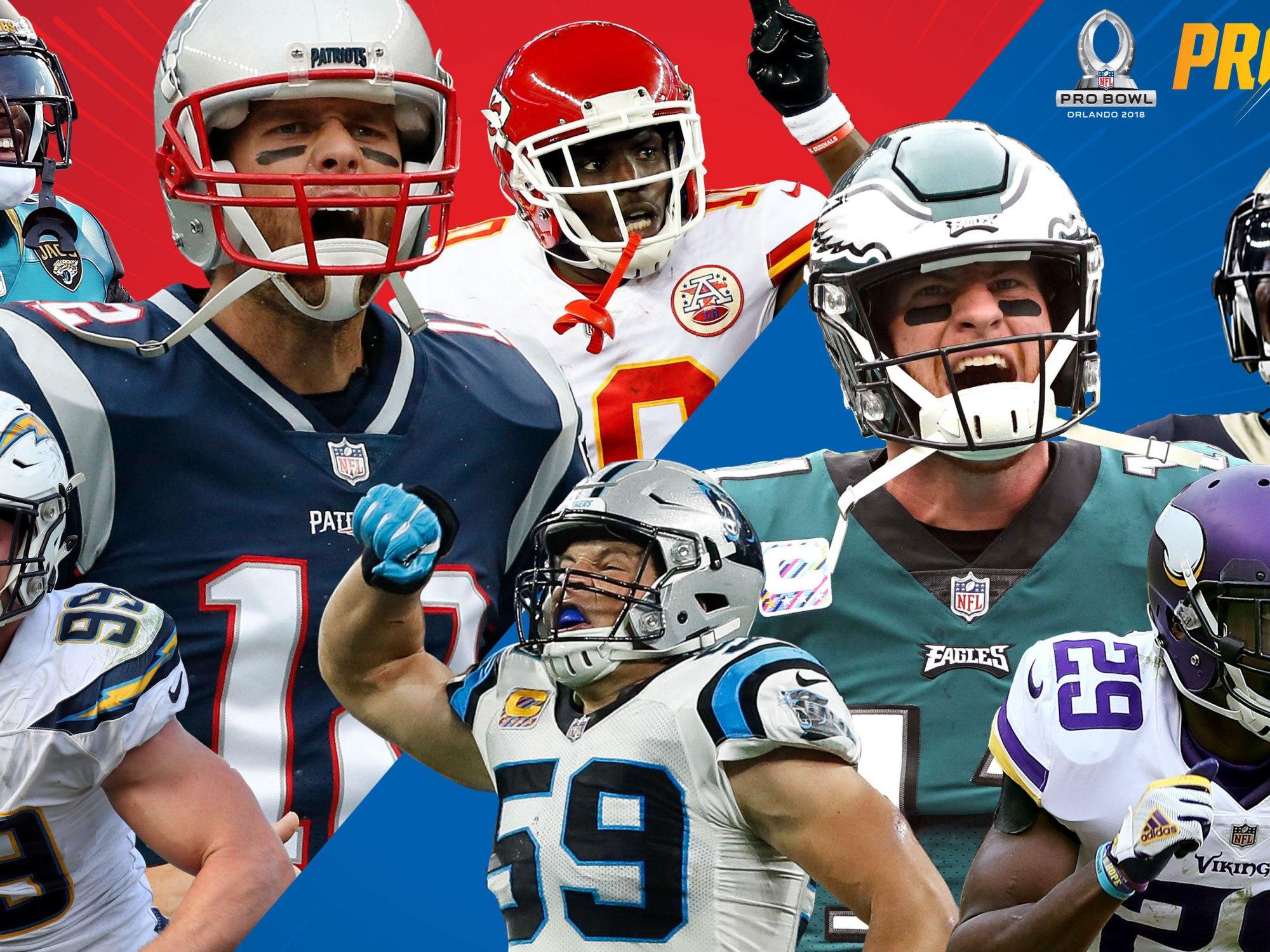 d19af871205 NFL 2017 Pro Bowl – Shoe In's, Surprises and Snubs – SportsbyFry