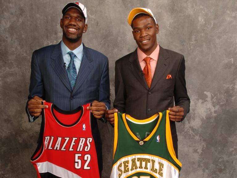 2007 NBA Draft Portraits