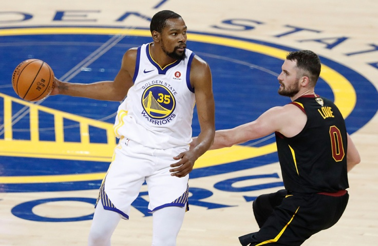 Cleveland Cavaliers at Golden State Warriors, Oakland, USA - 31 May 2018