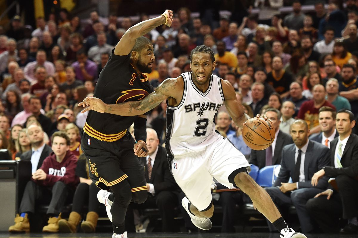 01a59a85f9d1 What If Boston Traded Kyrie Irving to San Antonio for Kawhi Leonard ...