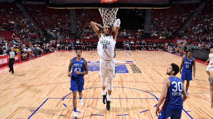 2018 Las Vegas Summer League - Philadelphia 76ers v Milwaukee Bucks
