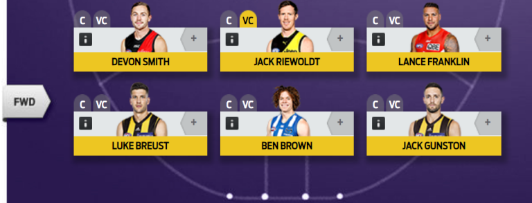 The SBF 2018 All-Australian Team 3