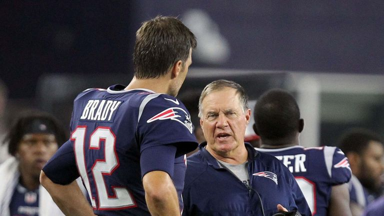 tom brady:bill belichick