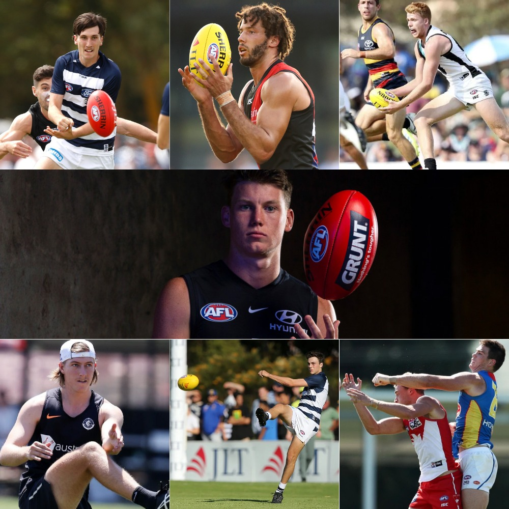 My 2019 AFL Fantasy Rookie Selections